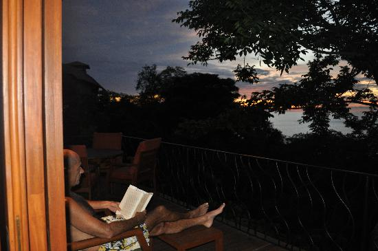 Four Seasons Resort Costa Rica at Peninsula Papagayo: View from one of our decks at sunset