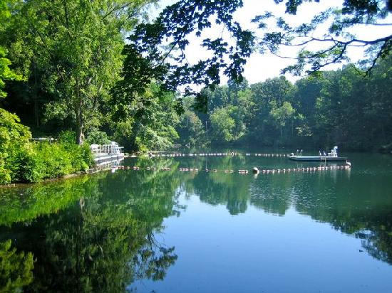 Taconic State Park Campgrounds: Swimming Area