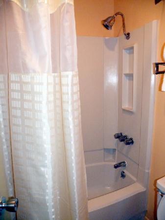 Best Western Northpark Inn: Clean Shower