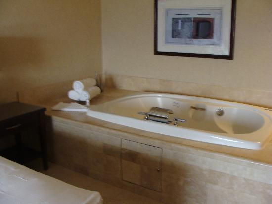 Ameristar Casino Hotel Council Bluffs: Jacuzzi in Rm 414