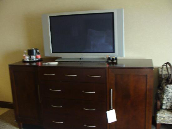 Ameristar Casino Hotel Council Bluffs: Flat screen tv & mini bar