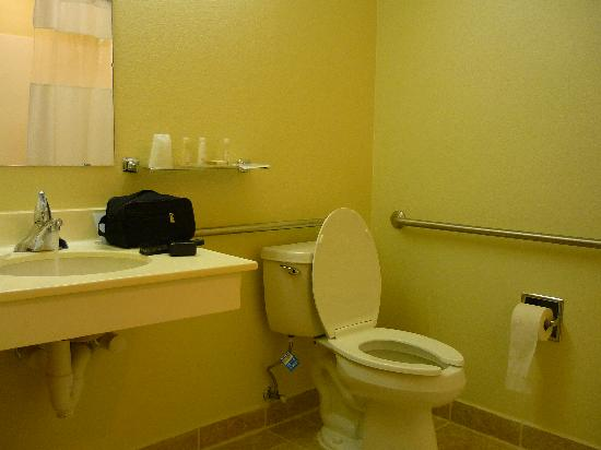 BridgePointe Inn & Suites: bath area