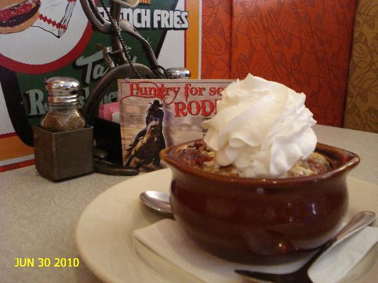Gunnison, CO: Apple-Cherry Cobbler