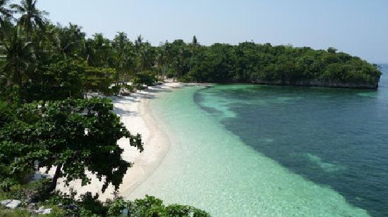 Beach Resort Villa Kaanit: Strand