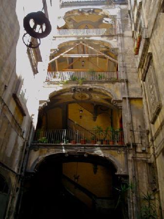 Le Stanze del Vicere': the staircase