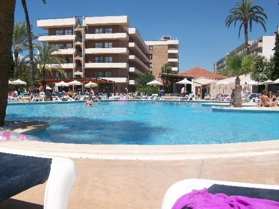 Viva Rey Don Jaime Hotel: Poolside