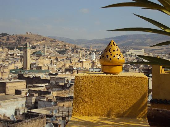 Riad Le Calife : La terrazza