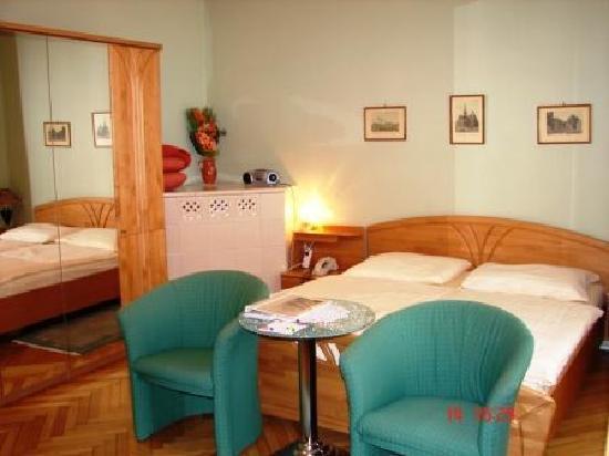 Hotel-Pension Lehrerhaus: Doppelzimmer Komfort