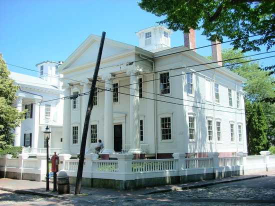 Hadwen House was built in 1845 at 96 Main Street.