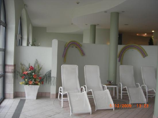 Romantik Hotel im Park: Wellnessbereich