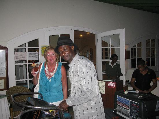 Holetown, Barbados: One off the evenings entertainment