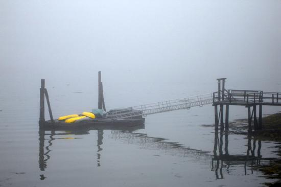Ocean Gate Resort: Foggy Morning At Ocean Gate