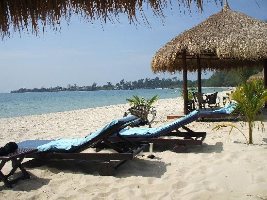 Sokha Beach Resort: sa plage privée