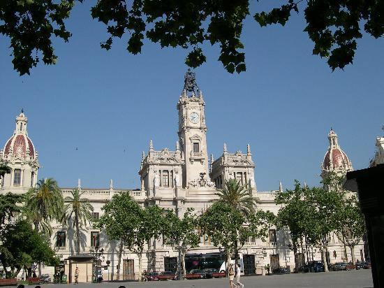Valencia, Spania: La piazza centrale