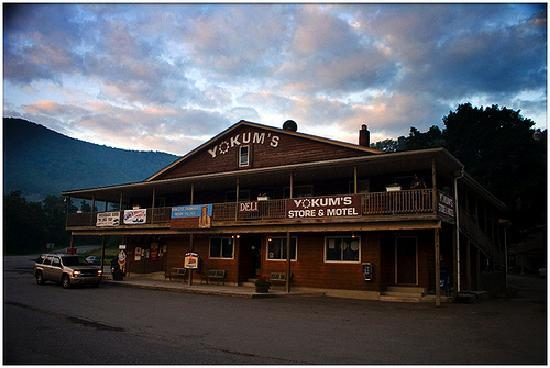 Yokum's Vacationland: This is the location you want to pick...general store below and motel above.