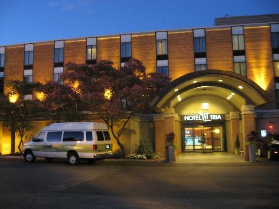 Hotel Tria: Façade de l'hôtel