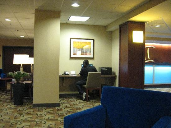 BEST WESTERN PLUS Hotel Tria: Station internet