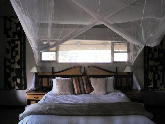Inyati Game Lodge: Here is a picture of our room at Inyati