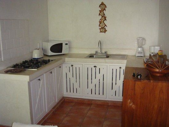Playa Grande Park Hotel: Kitchen - yes it's a mini fridge but it's fine!