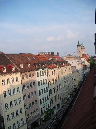 Hotel Torbräu: view from the room