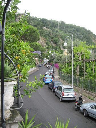 Villa Adriana Guesthouse Sorrento: view from my room