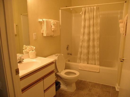 American Classic Suites Johnson City: Bathroom