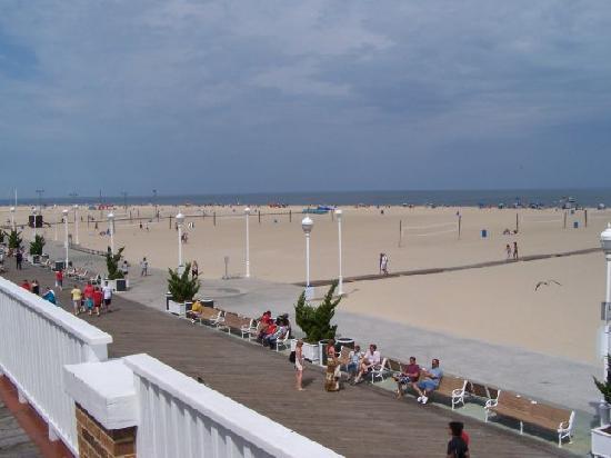 Atlantic Hotel: Deck view 1