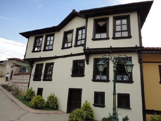 Eskisehir Province, Turkey: A houses at Odunpazari