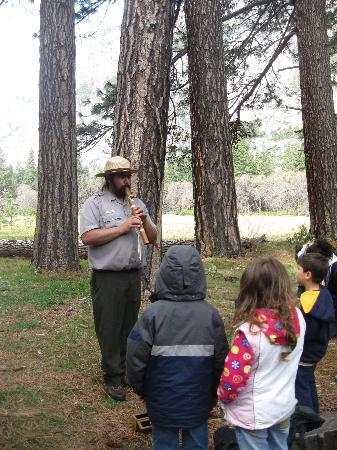 North Pines Campground: Ranger led hikes are always great!