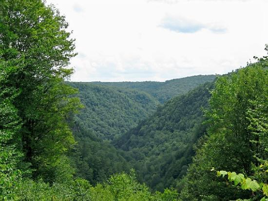 Wellsboro, Pensilvanya: One of many beautiful vistas
