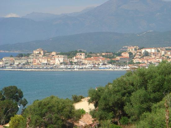 Hotel Dolce Notte : View of St Florent