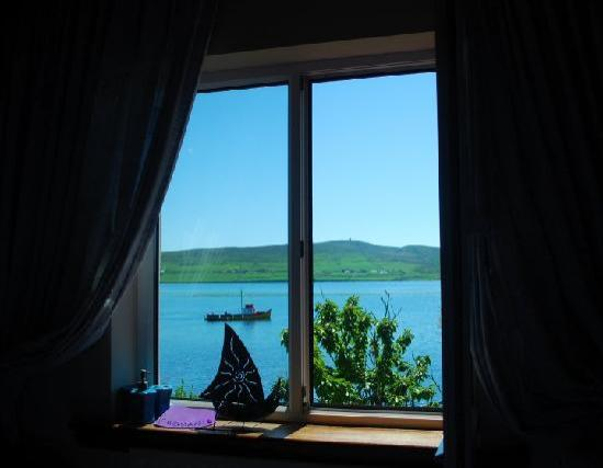 The Last Cottage B & B : The view from your room...