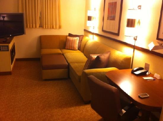 Hyatt Place Lake Mary/Orlando-North: Couch/TV