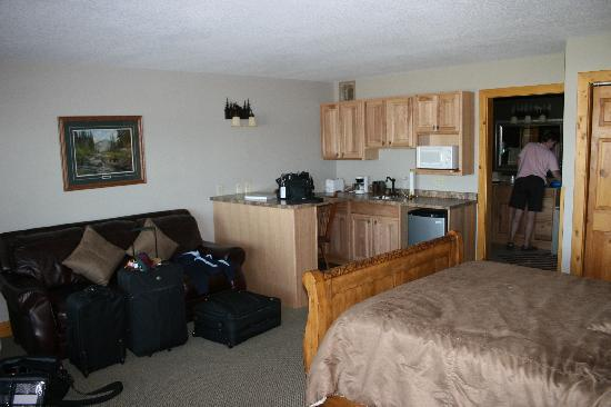 Lake City, MN: superior suite bedroom