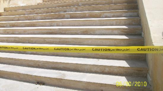 The Royal Savoy Sharm El Sheikh : No construction work!