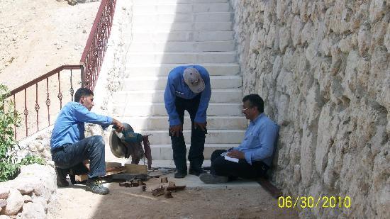 The Royal Savoy Sharm El Sheikh : men at work