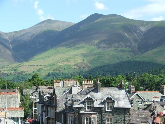 Seven Oaks Guest House: Skiddaw from Seven Oaks