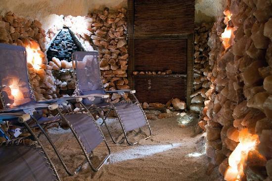 Eden Hotel: salt grotto