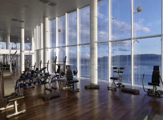 Novi Spa Gym With Sea View Picture Of Novi Spa Hotels