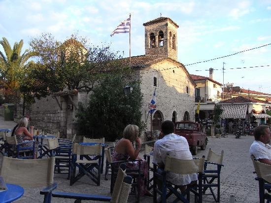 Achtis Hotel : Afitos in the evening