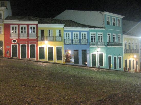 Pousada do Pilar: Pelourinho at night
