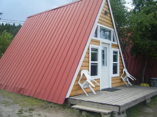 Dutch Lake Resort & RV Park: Our a-frame cabin