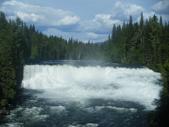 Clearwater, Canadá: Dawson Falls, Wells Grey Park