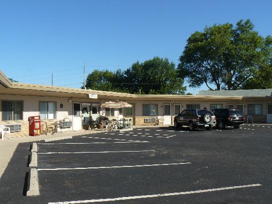 Plaza Motel Bryan: Outside
