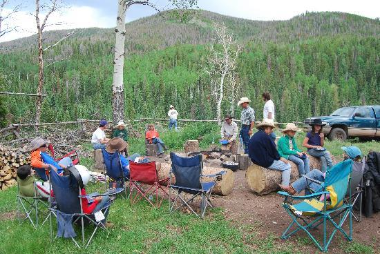 Black Mountain Ranch: Pack Camp