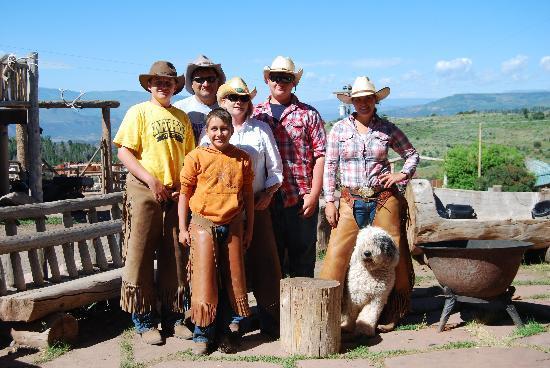Black Mountain Ranch: My Family & Amanda