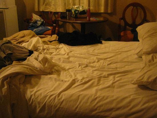 Skyline Inn Atlantic City: My bed the second night