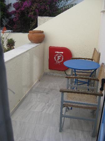 Villa Roussa: Balcony