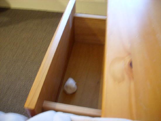 Auberge de la Claire : Le coton sal trouvé dans la commode