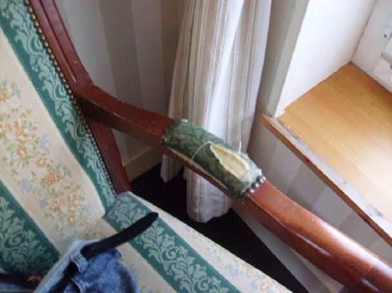 Auberge de la Claire : Le fauteuil
